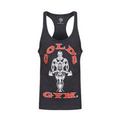 Gold's Gym Muscle Joe Premium Stringer-Tanktop (Charcoal Marl). Jetzt bestellen!