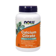 NOW Calcium Citrate mit Minerale & Vitamin D2. Jetzt bestellen!