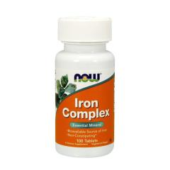 Iron Complex von NOW Foods. Jetzt bestellen!
