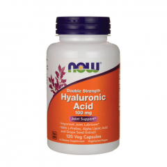 Now Hyaluronic Acid 100 mg (Double Strength). Jetzt bestellen!